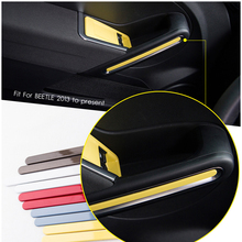Misura Per Valkswagen New Beetle interni decorator maniglia di portello della copertura della pagina surround panle trim stampaggio