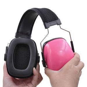 Image 5 - חדש צבע ראש אטמי אוזניים נגד רעש אוזן מגן לילדים/מבוגרים מחקר עבודת שמיעה הגנה עם מתכווננת סרט