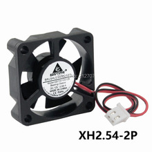 5pcs/lot 12V XH2.54 2Pin 30x30x10mm 30mm Small Brushless DC Cooling Cooler Fan 5 Blades