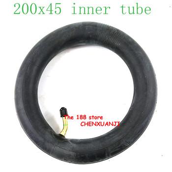 200 #215 45 napompowana dętka do e-twow S2 skuter pneumatyczny koło 8 #8222 skuter wózek inwalidzki koło wewnętrzna opona 8 #215 1 1 4 tube tanie i dobre opinie CHENXUANJI CN (pochodzenie) 20 32 rubber Opony 200x45 inner tube