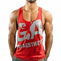 Gyms Tank Top Men Cotton Bodybuilding stringer Gyms Shark Brand Gymsclothing Fitness Mens Singlet Sleeveless shirt Workout Cloth
