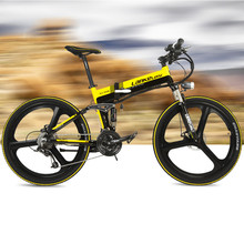 27 Speed, 36V  8.8A/12.8A, 240W, 26 inches, Magnesium Alloy Rim, Hidden Lithium Battery, E Bicycle, Mountain Bike, Folding Bike