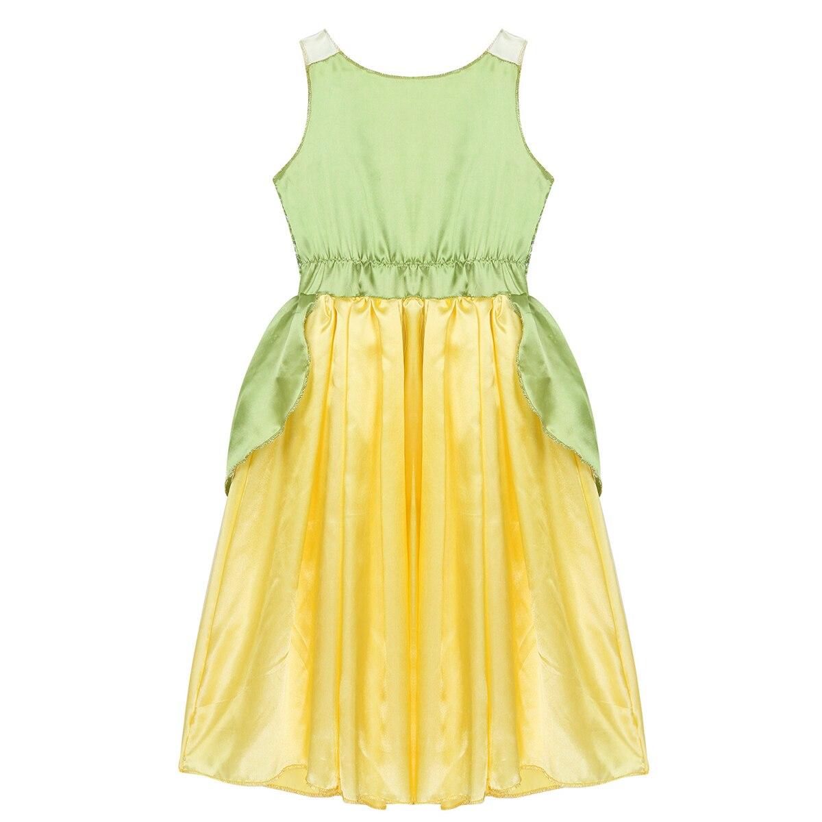 5-10 anos meninas vestido de princesa criança