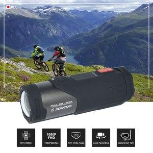 Image 2 - Оригинальная Спортивная экшн видеокамера SOOCOO S20WS с Wi Fi, водонепроницаемая, 10 м, 1080 P, Full HD, велосипедный шлем, мини, для спорта на открытом воздухе, DV