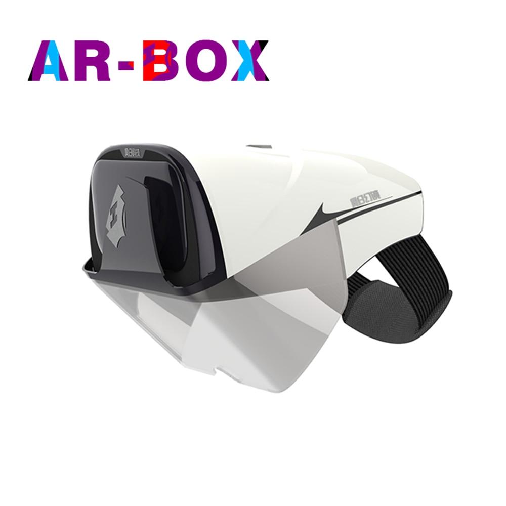 Очки виртуальной реальности 3D очки Vritual реальности Shinecon гарнитура VR очки универсальный 3D коробка для смартфонов