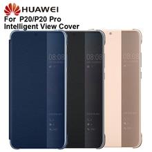 Housse de Protection en cuir dorigine Huawei Smart View housse de téléphone pour P20 P20 Pro étui à rabat