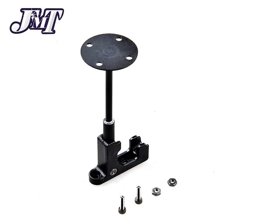Jmt plástico gps antena suporte de montagem dobrável base do assento suporte dobrável para diy zangão fpv 250 quadcopter multirotor