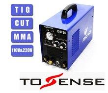 TSC520 Многофункциональный Сварочный Аппарат TIG CUT MMA 110 В 220 В Бесплатная Доставка 3 в 1 Сварщик Инвертор