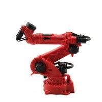 Robot 3D Model Gift 1:10 COMAU Industrial Robot Model Manipulator Arm Model Vertical Multiple Joint for Education,Decoration