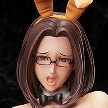 41cm Japanese sexy anime figure Native Non Virgin  bunny ver action figure collectible model toys for boys