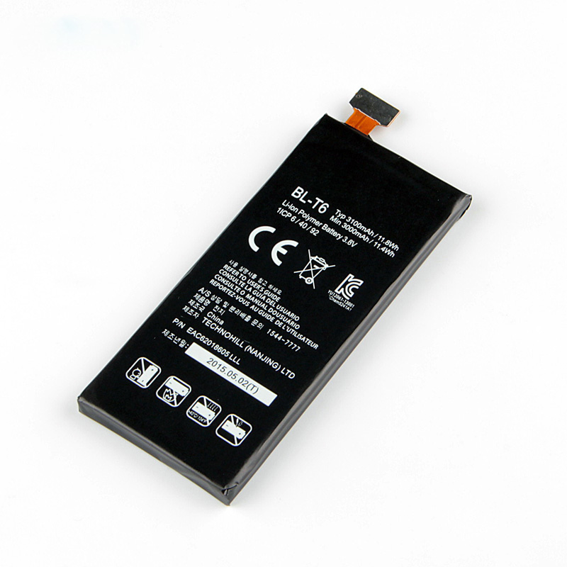 Fesoul Replacement Battery F220 Phone High-Capacity Li-Ion BL-T6 For LG Optimus GK F220/F220s/F220l/F220k