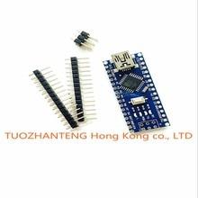 Freeshipping ! 1pcs/lot Nano 3.0 controller compatible for arduino nano CH340 USB driver NO CABLE