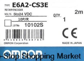Encoder E6A2-CS3E 10P R New Original free shipping e6a2 cs5c 60p r rotary encoder new e6a2cs5c 60p r inc 12 24vdc open a phase e6a2 cs5c 60p r