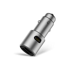 "Image 4 - Xiaomi המקורי QC 3.0 USB הכפול טעינה מהירה מקס 5V 3A 36w עבור iPhone סמסונג Huawei oppo vivo USB C רכב מטען פ""ד"