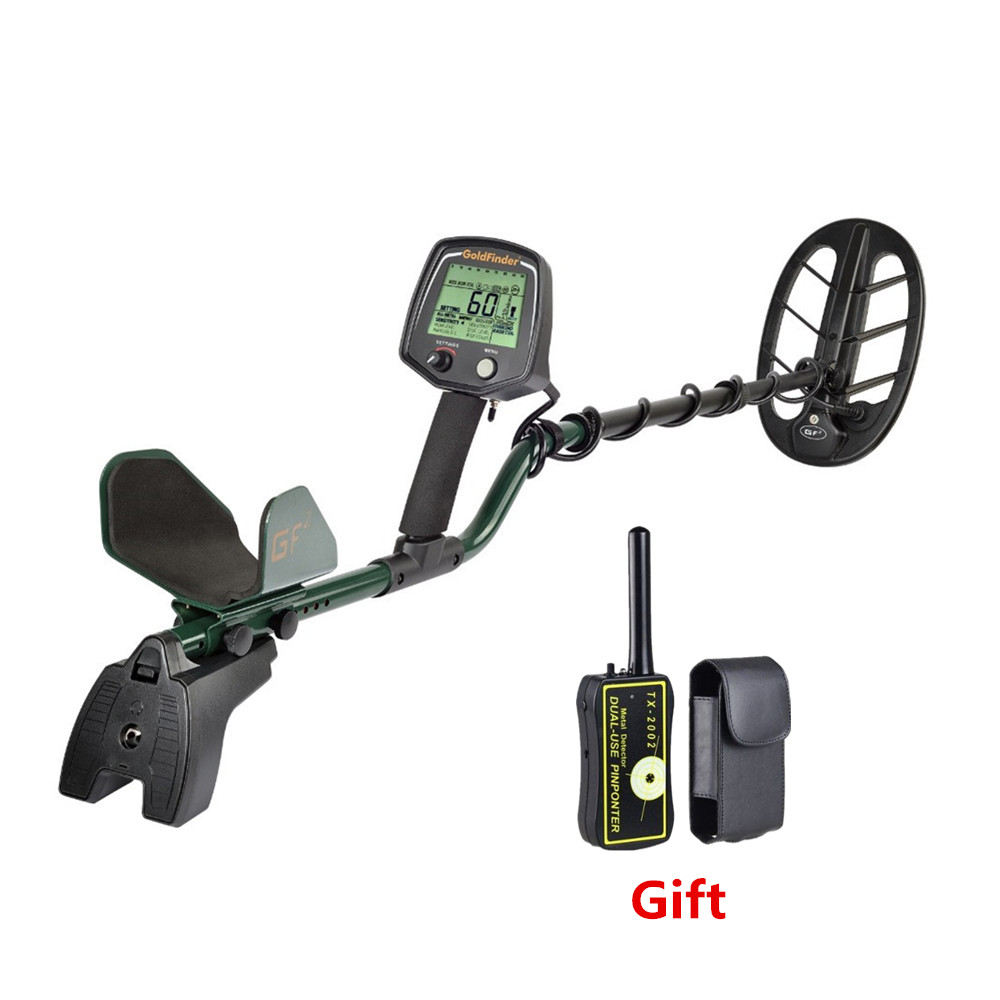 Free shipping 2019 Best Quality Gold metal detector precious treasure finder for underground gold detector GF2