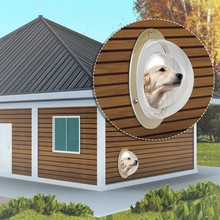 Boxed Small Fence Window For Pets Prevent Disturbance Transparent Pet Lookout Household Watch Station