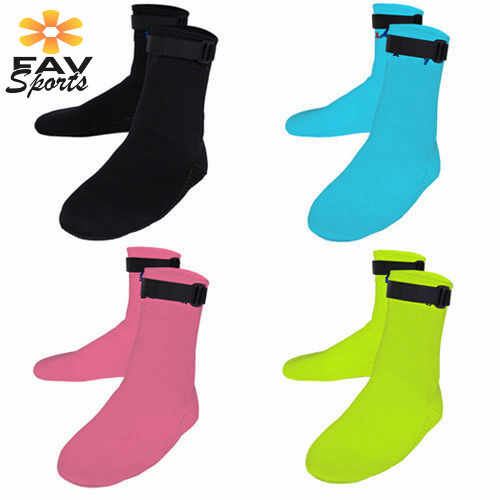 4 kleuren Zwemmen Vinnen Water Sport Zwemmen Surfen Schoenen Sokken Unisex 1.5mm Scuba Neopreen Duiken Sokken Snorkelen Duiken Laarzen