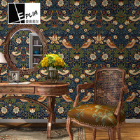 10Mx53cm European retro pattern PVC Self adhesive Wallpaper Furniture Renovation Stickers Waterproof Kitchen room Decorative