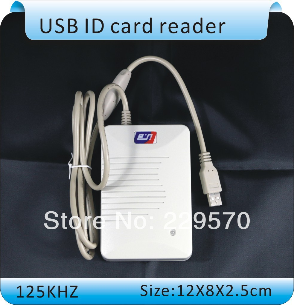 Free shipping YLE406 induction ID card reader, RFID Tags - tag reader, 125 KHZ frequency, + 5pcs card free shipping tm card reader 1990a f5 usb reader plug and play 5pcs ds1990a f5 ibtton tag