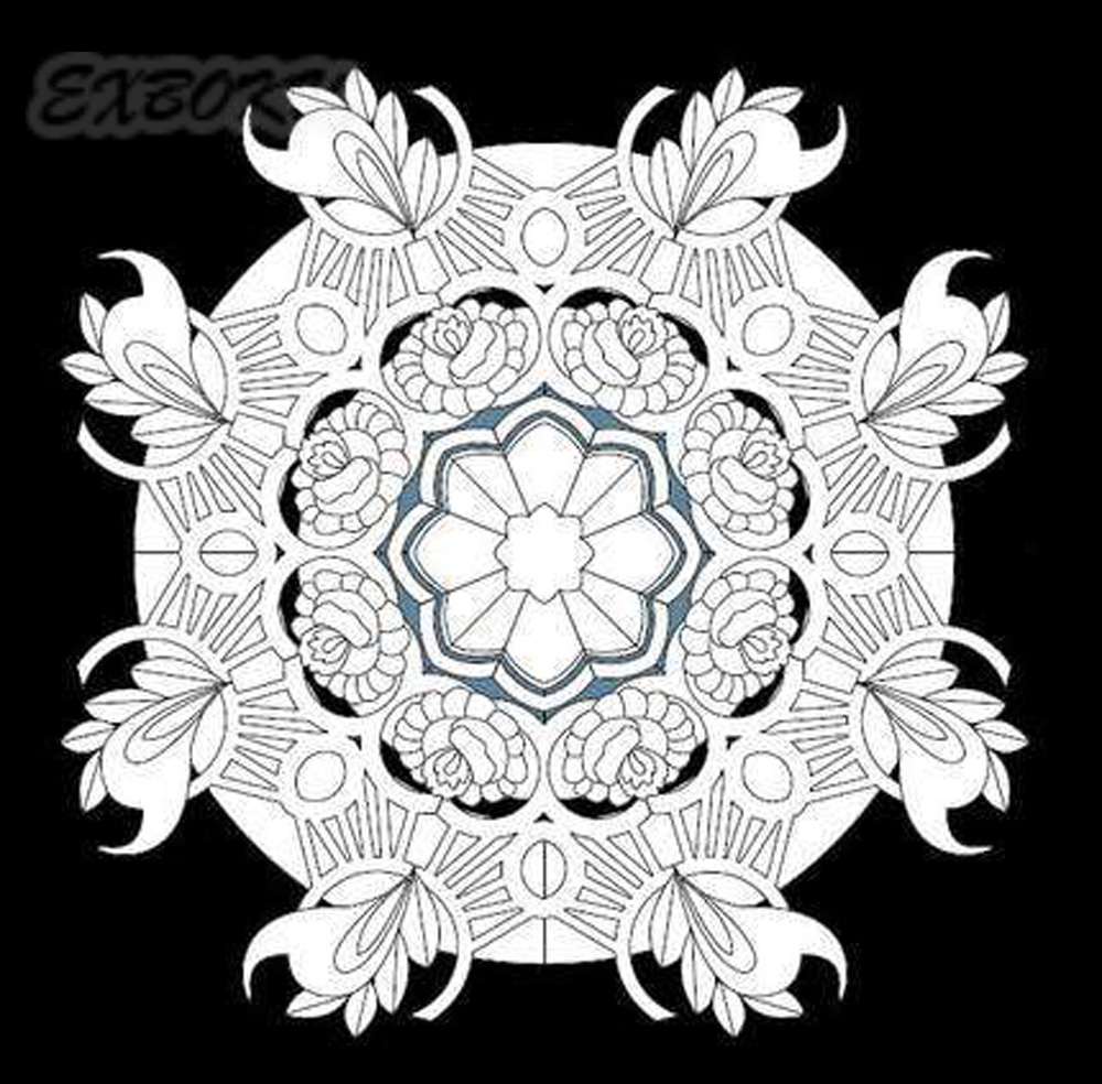 Magic-Mandala-stars-coloring-book-for-Children-Adults-Relieve-Stress-Picture-Art-Painting-Drawing-Colouring-Book (4)