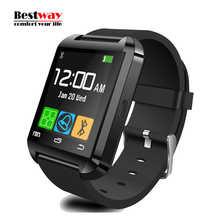 U8 Smart Watch Remote Control Sports Smart font b Health b font WristWatch Wearable Android IOS