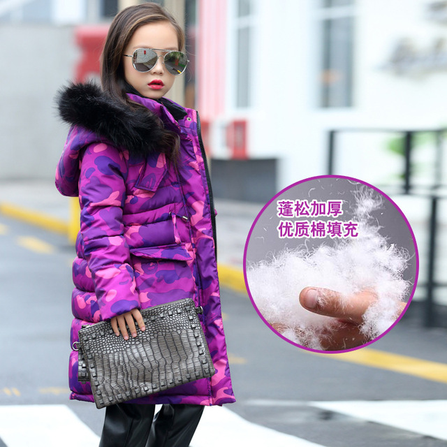 Aliexpress.com : Buy 5 6 7 8 9 10 11 12 13 14 15 Years Girls Coat ...