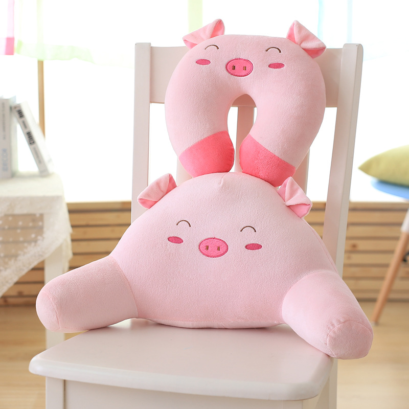bed reading pink cotton ushaped lumbar pillow arm support watch tv chair bed rest pillow sofa sleep plushtoys birthday gift - Bed Rest Pillow With Arms