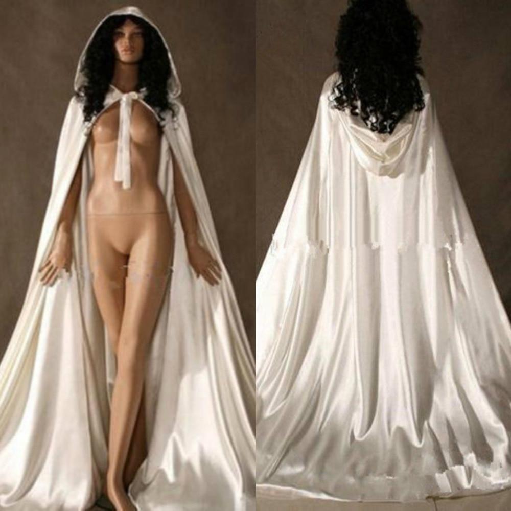 2019 Fashion Bridal Wraps Satin Wedding Bolero Fashion Wedding Wrap Bridal Cape Cloak Custom Made Plus Size Wedding Accessories