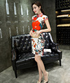Women's Evening Silk Dress Chinese Cheongsam Qipao for Ball Prom Cocktail Party size from S M L XL to 3XL