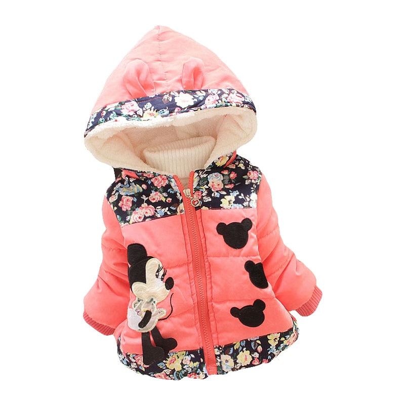 LZH Baby Girls Jacket 19 Autumn Winter Jacket For Girls Coat Kids Warm Hooded Outerwear Coat For Girls Clothes Children Jacket 38