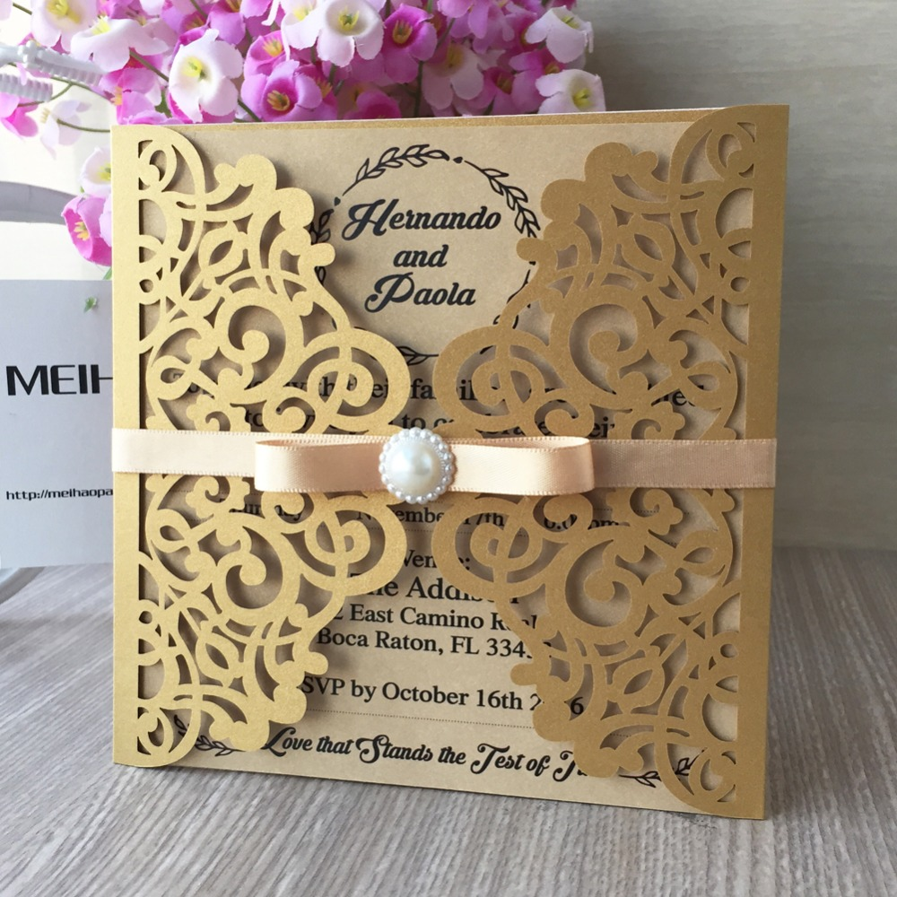 online get cheap country style wedding invitations -aliexpress, Wedding invitations