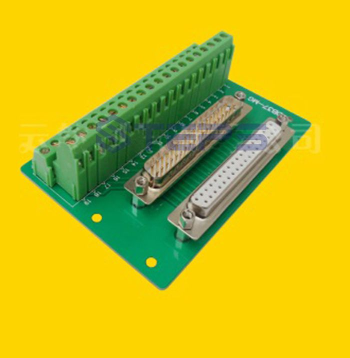 Free shipping DB37 one male+one female 37 pin adapter plate parallel port DR37 breakout board стоимость