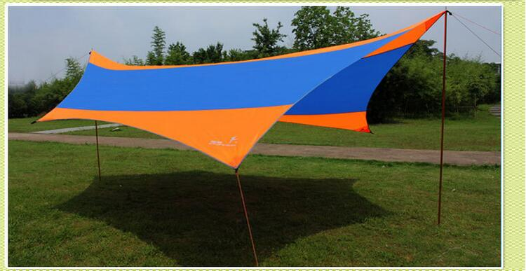 C&ing UV Protection Sun Shelter Folding Beach Sun Shade Multi Function Portable Sun Canopy-in Sun Shelter from Sports u0026 Entertainment on Aliexpress.com ... & Camping UV Protection Sun Shelter Folding Beach Sun Shade Multi ...
