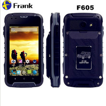 Origianl  Rungee F605 Waterproof Phone IP68 MTK6572 Dual Core Smartphone 512MB RAM 4GB ROM 4.5″IPS screen 12000mah Android 5.1