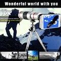 Orsda 18x Zoom Telescópio óptico lente Da Câmera do telefone móvel Lente teleobjetiva para nota 3 S5 S6 5S 6 s 6 plus para iphone7 mate7