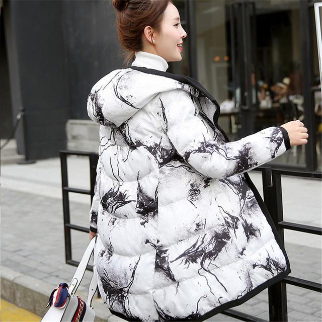 O novo 2016 do algodão-acolchoado roupas mais do sexo feminino em ambos os lados grandes estaleiros longo casaco para usar para manter-quente de algodão acolchoado jaqueta