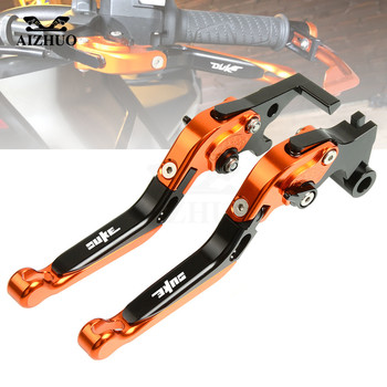 CNC Aluminum For DUKE 790 Motorcycle Brake Clutch Lever Adjustable Foldable Extendable Brake lever For KTM 790 DUKE 790 2018 UP