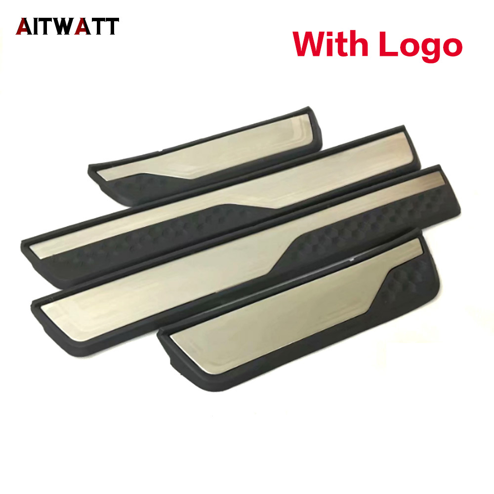 For Honda CRV CR V 2017 2018 Stainless Steel External Door Sill Protector Welcome Pedals Scuff Plate Guards Covers Trim 4Pcs|Chromium Styling|Automobiles & Motorcycles - title=