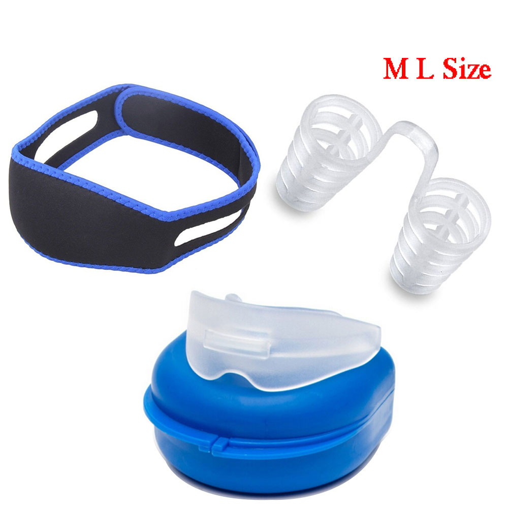 Anti Snore Solution 3 Pack Adjustable Stop Snoring Chin