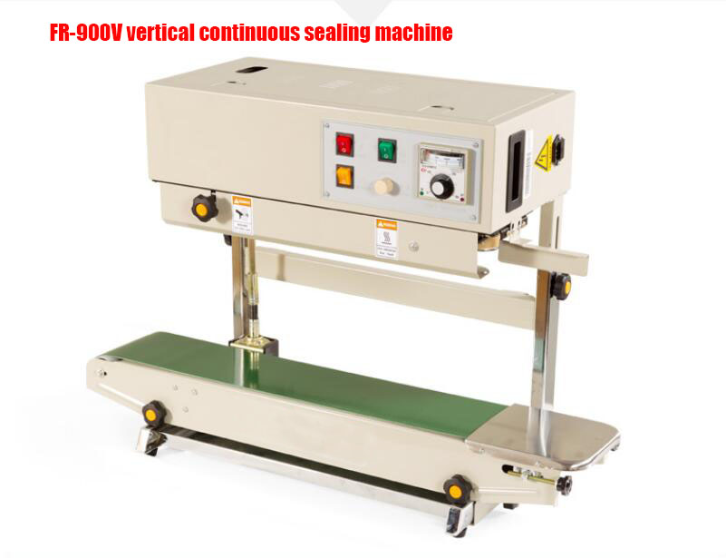FR 900V Vertical automatic continuous compound film bag sealing machine continuous band sealer packaging machine