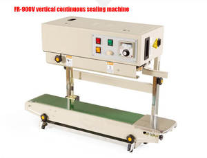 Sealing-Machine Continuous-Band-Sealer Automatic Film-Bag FR-900V Vertical