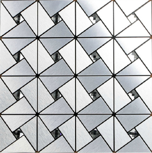 Peel and stick Aluminum Metal Mosaic Puzzle sticker Kitchen Backsplash Home wall decor Clear Glass wall mosaic art tiles,LSLCB02 strong view pebble ceramic mosaic tiles for bathroom shower floor kitchen backsplash swimming pool home garden decor tile lsyb14