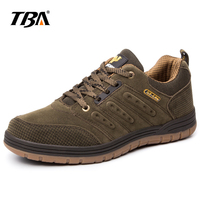 2019 TBA Men's Walking Shoes Male Outdoor Non Slip Wear Resistant Lace up Walking Shoes Men's Travel Shoes Sports Shoes