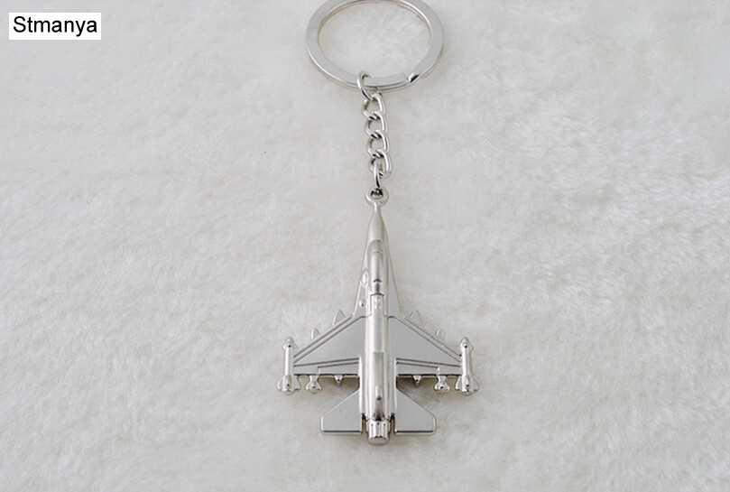 Nuevo avión llavero avión coche llavero Metal llavero bolso clásico llavero colgante envío rápido joyería de regalo