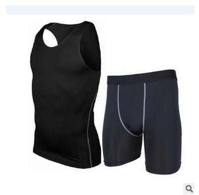 Frete grátis, Marca pro set. tops. compressão de roupas, camisas de verão,
