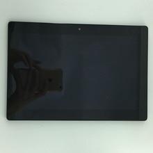 LCD FULL Affichage Écran Tactile Écran Numériseur + Cadre Assemblée pièces De Rechange Pour 10.1 «Lenovo IdeaTab S6000