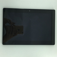 For 10 1 Lenovo IdeaTab S6000 FULL LCD Display Screen Touch Screen Panel Digitizer Frame Assembly