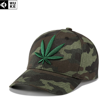 WUKE New Men s Snapback Hats Gorras Militares Hombre Army Camouflage Caps  Embroidery Leaves Women Adjustable Baseball 4d478a38be5