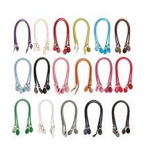 Handle Bag Straps PU Leather 40cm/50cm/60cm Belt Shoulder Handles Replacement for Handbags Strap DIY Accessories