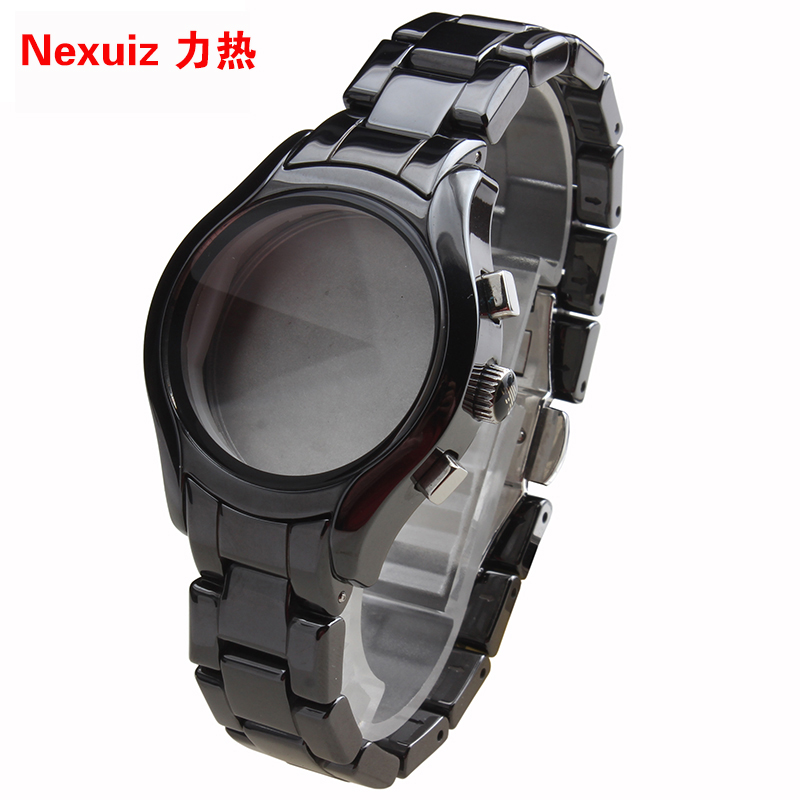 NEW Watchbands 22mm,High Quality Ceramic Watchband  black Diamond Watch fit AR1401 watches Bracelet  watch strap WATCHBAND new watchbands 18mm high quality ceramic watchband black diamond watch fit ar1412 women watches bracelet watchband